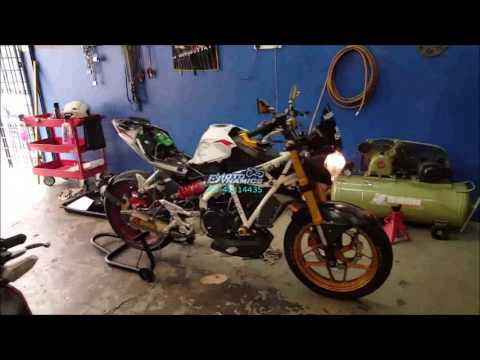 Naza N5 250 PowerTRONIC ECU Dyno Tuning - Motodynamics Technology Malaysia