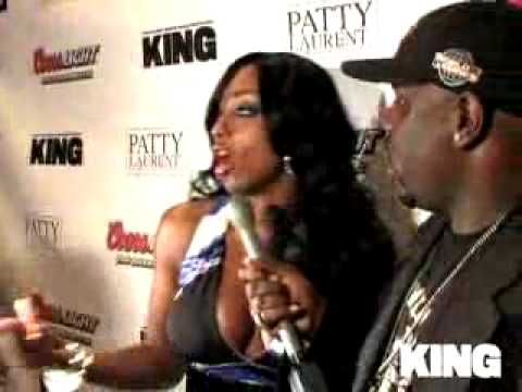 King Magazine - Buffie Parties With KING
