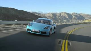 Test - Porsche Cayman 718