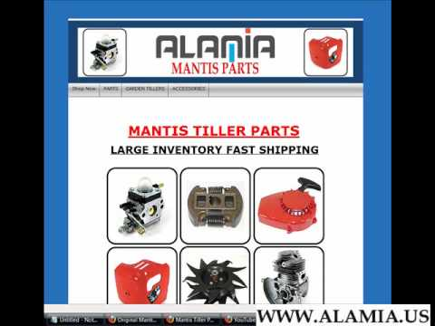 Mantis Parts Diagram Mantis Tiller Parts