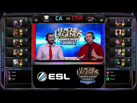 Curse Academy vs CompLexity White Game 1 | NA LCS Expansion Tournament 2015 | CA vs COW G1 60FPS