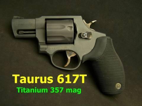 Taurus model 617t 357 magnum titanium revolver youtube - Taurus mycook 1 6 precio ...