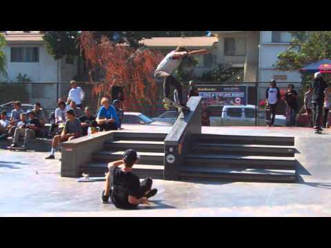 360 flip 5-0 down a hubba - Anthony Pshebelski,