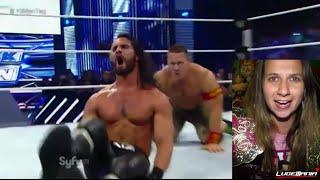 WWE Smackdown 9/5/14 10 Man Tag Team CRAZY Main Event