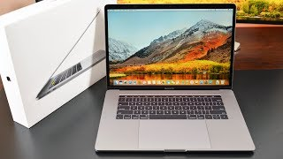 "Apple MacBook Pro 15"" (2017): Unboxing & Review"