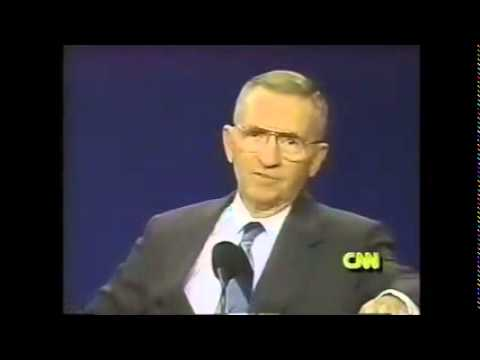 Ross Perot on Iraq in 92' Presidential Debate