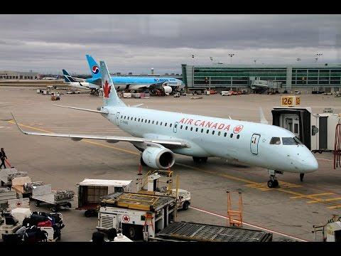 Air Canada | Embraer E190 | YYZ-YUL | Economy