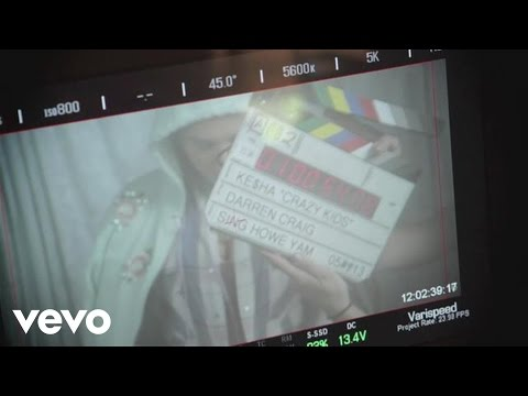 Ke$ha - Crazy Kids (Behind The Scenes) ft. will.i.am