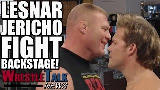 Brock Lesnar & Chris Jericho Backstage Fight! Finn Balor Injured! | WrestleTalk News