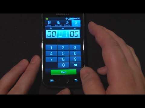 Samsung Galaxy S GT-i9000 Software Tour Part 1