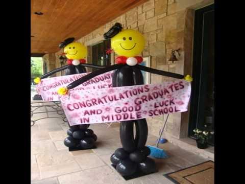 Graduation Balloon Decoration Ideas