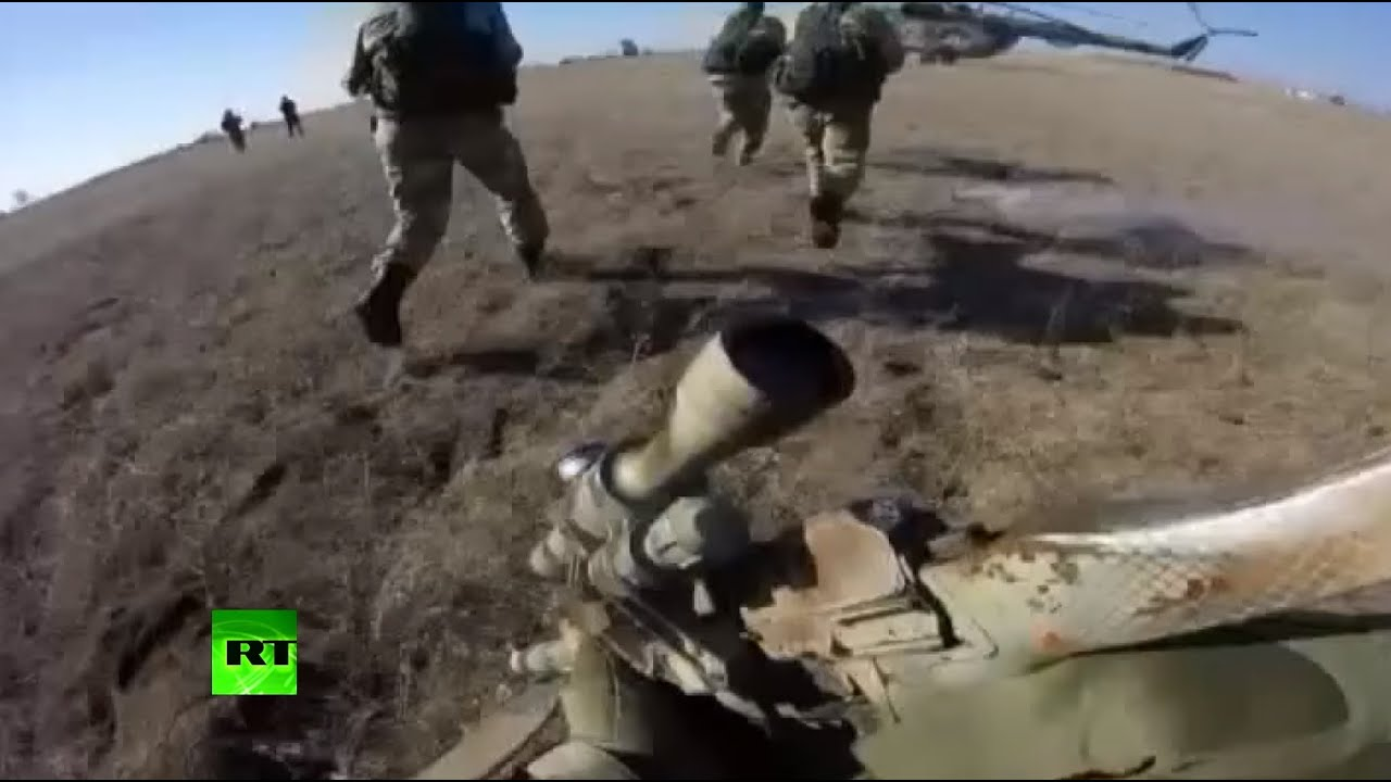 Russian military drills: From the bottom of the sea to the clouds in the sky (incl. GoPro footage)