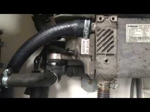 Webasto Thermo top Z, C, Z/C Diesel / Petrol Heater Testing for garage central heating