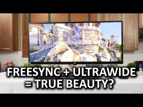 LG 34UM67 Ultrawide FreeSync Monitor