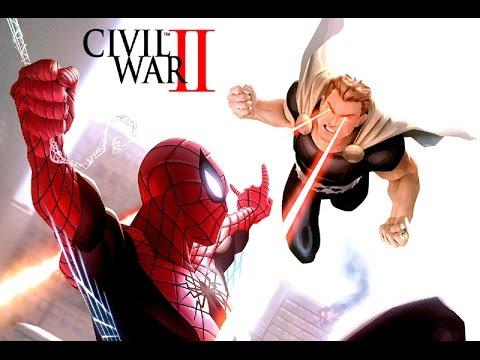 Spider-Man vs. Hyperion & Squadron Supreme