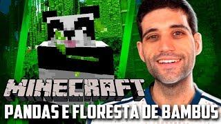 Minecraft 1.14 #11 - Encontramos os PANDAS e a Floresta de Bambus