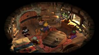 Final Fantasy VII (PS4) An Awkward Visit To Zack's Parents With Tifa & Aerith HD 720p 60fps