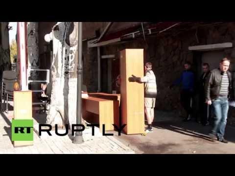 Ukraine: Red Cross salvage HQ after fatal rocket kills team member