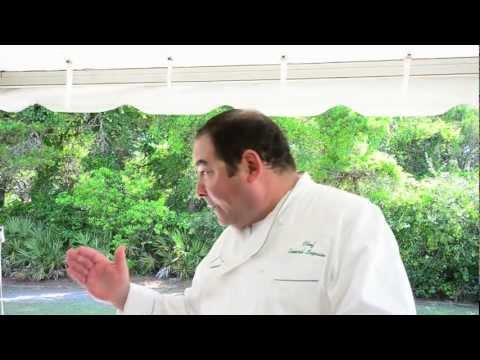 Emeril Lagasse Cooking at at Seaside Florida