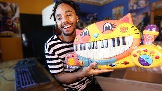 PRODUCER TURNING KIDS TOY PIANO INTO A TRAP BANGER