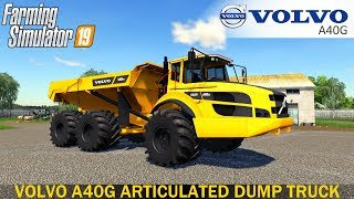 Farming Simulator 19 - VOLVO A40G ARTICULATED DUMP TRUCK