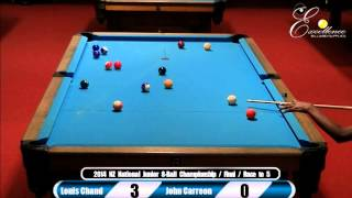 Final: NZ National Junior 8-Ball Championship