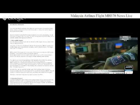 Malaysia Airlines Flight MH370 News Live (27/3/2014)