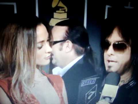 Nikki Sixx on the red carpet, Grammy Awards 2011
