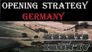 Hearts of Iron 4 Opener - Germany starting strategy