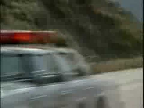Hardcastle And McCormick Car Chase Scene Video