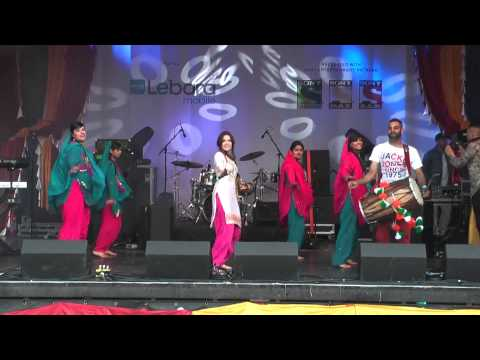 Beautiful Punjabi Bhangra Music Dance At Vaisakhi 2014 Trafalgar Sq London video
