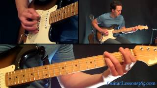 Layla Guitar Lesson - Derek and the Dominos - Eric Clapton - Famous Riffs