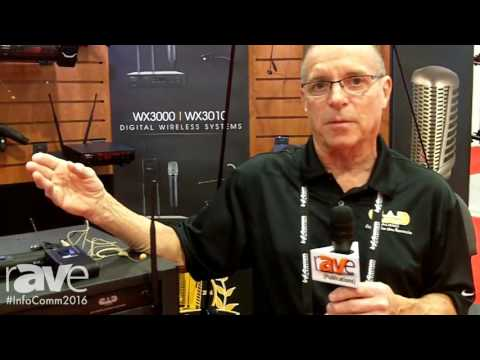 InfoComm 2016: CAD Audio Intros WX 3000 Series Wireless System