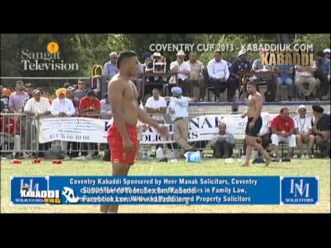 Coventry Kabaddi Cup 2013 [part 2 Of 2] Final Kabaddiuk video