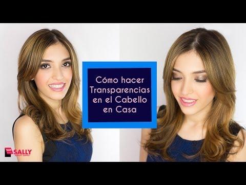 Cómo hacer Transparencias de Cabello en Casa