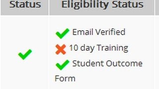 Pmgdisha student outcome form complete