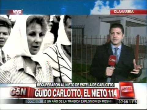 C5N - SOCIEDAD: ACA VIVE EL NIETO DE ESTELA CARLOTTO