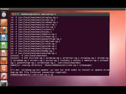 Watch Install Aircrack-ng in Ubuntu 12.04 LTS Precise Pangolin