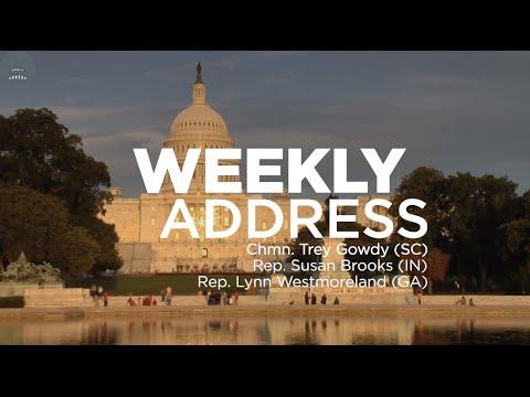 Weekly Address: Benghazi Committee