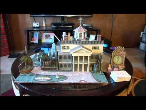 Escape the haunted mansion diy board game youtube for Diy escape room