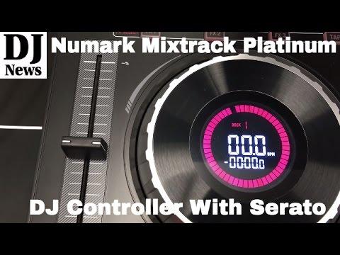 #Numark Mixtrack Platinum DJ Controller with #Serato Preview | Disc Jockey News