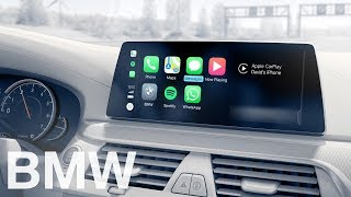 BMW ConnectedDrive. Apple CarPlay.