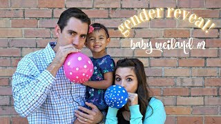 BABY #2 GENDER & NAME REVEAL! | Rachel Weiland