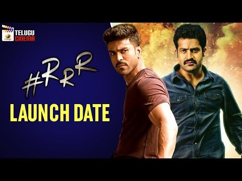 #RRR Movie LAUNCH Date | Jr NTR | Ram Charan | Rajamouli | Keerthi Suresh | Mango Telugu Cinema