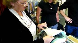 Kenmare Lace Demonstration by Nora Finnegan