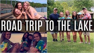ROAD TRIP W BFFS TO LAKE HOUSE (PART 1) | SUMMER VLOGS