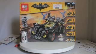 Mở hộp Lepin 07077 Lego Batman Movie 70917 The Ultimate Batmobile giá sốc rẻ nhất