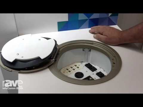 InfoComm 2015: Middle Atlantic Products Displays 10″ Recesed Poke-THrough Device