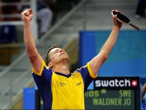 Jan Ove Waldner The King Of Service Youtube