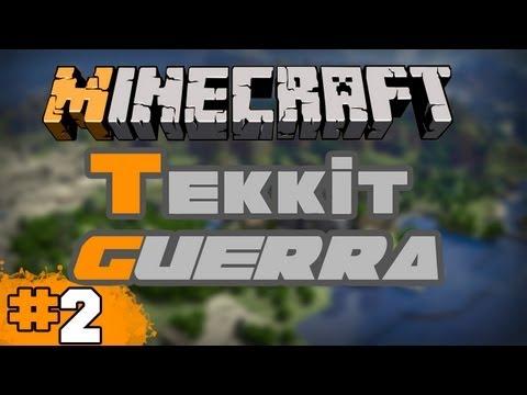 Minecraft Tekkit: Parte 2 - Procurando uma Casa!